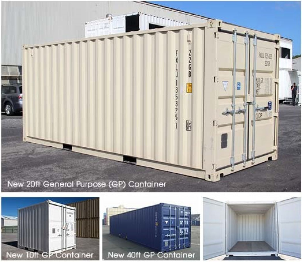 Where are shipping containers made?