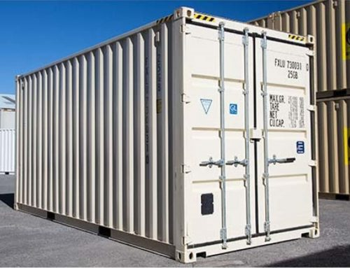 How a shipping container is made …