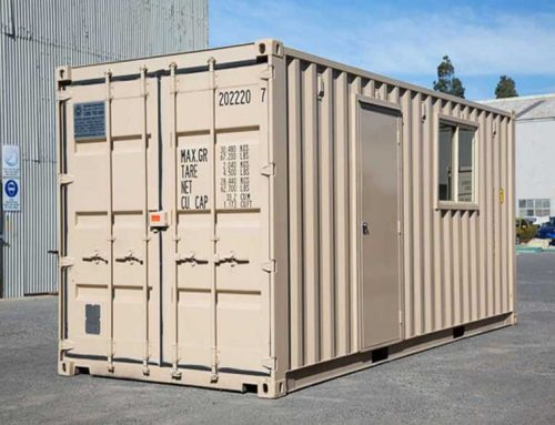 Sturdy second-hand containers to buy