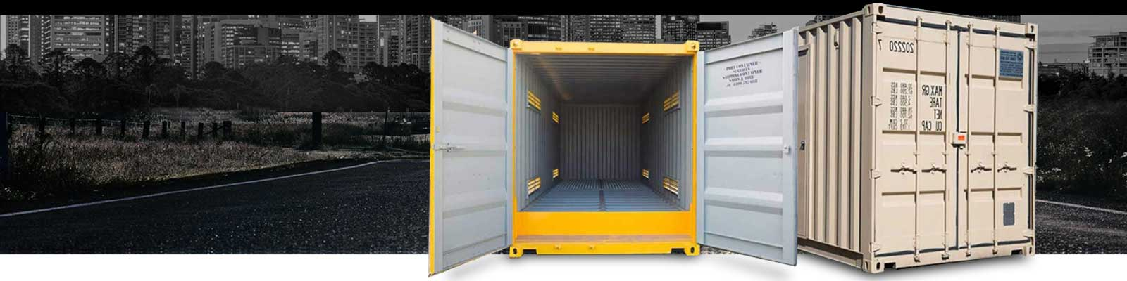 Why were shipping containers invented?