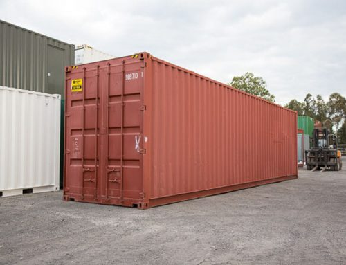 Reliable shipping container hire Ipswich