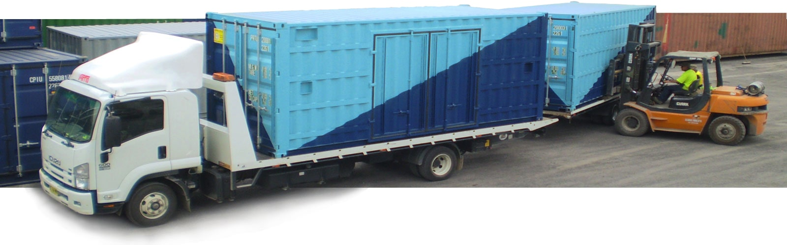 container hire in Brisbane