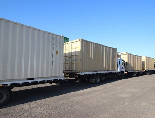 Efficient shipping container delivery in Brisbane