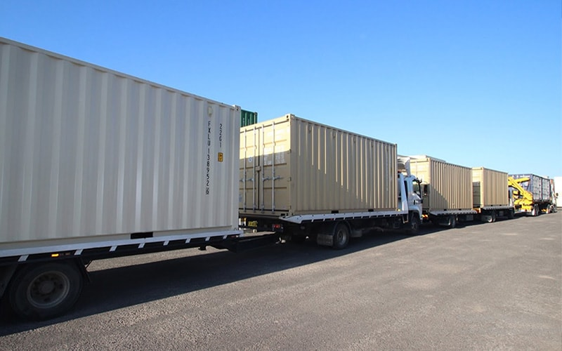 shipping container delivery in Brisbane
