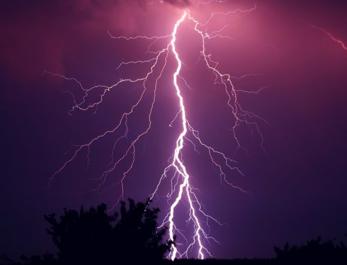 Shipping containers and lightning